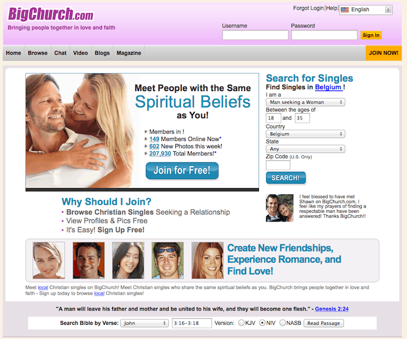 Christian dating service review
