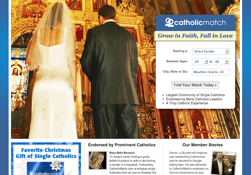 top rated catholic dating sites Which one is the best catholic dating site check our ratings and reviews of the top 10 catholic dating sites, including features, costs and more find the right dating.