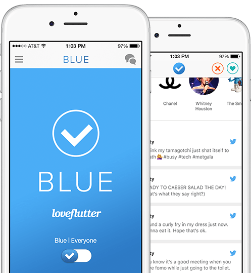 Blue dating app accommodating style of conflict resolution