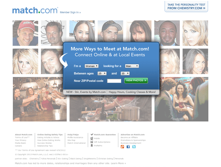 match dating website reviews