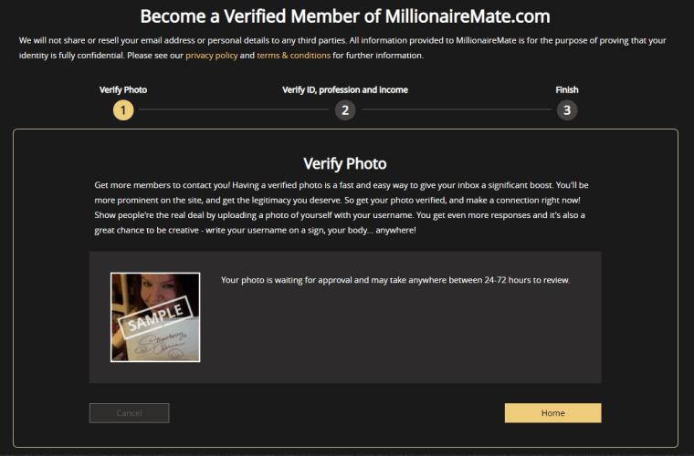 Millionaire mate dating sites online senior dating
