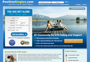 PositiveSingles.com website