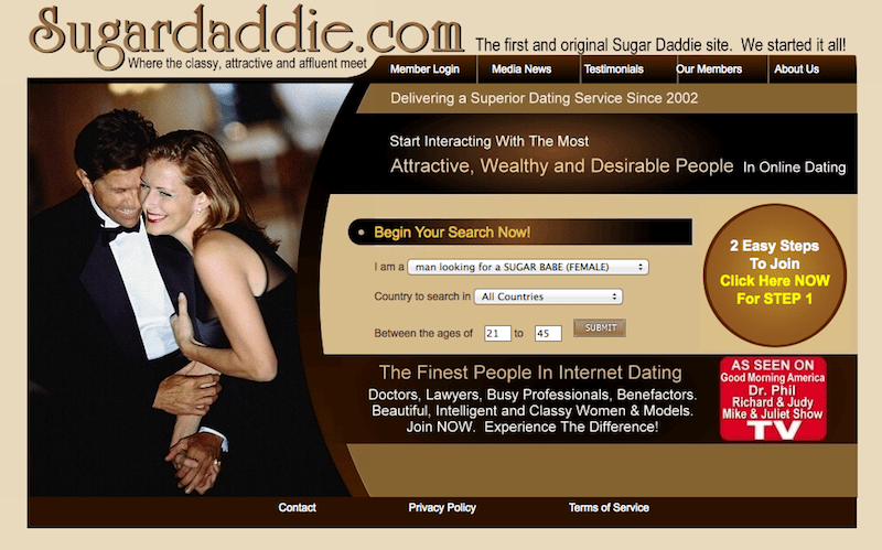 Top 10 Sugar Daddy Websites